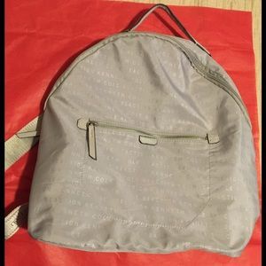 Silver Kenneth Cole Reaction backpack
